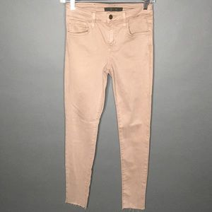 Joes The Icon Mid Rise Ankle Skinny Light Brown 25